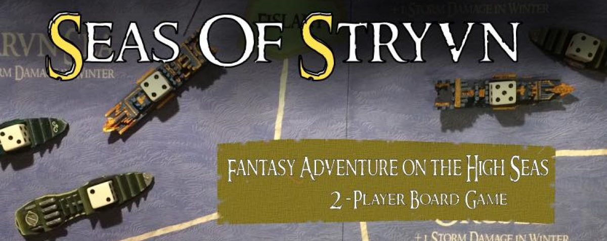 Seas of Stryvn Board Game